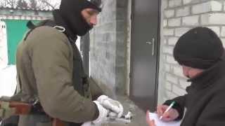 Каратели правосеки издеваются над мирными жителями Донбасса