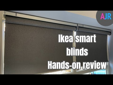 Ikea smart blinds hands on review - First impressions with a pair of FYRTUR blinds