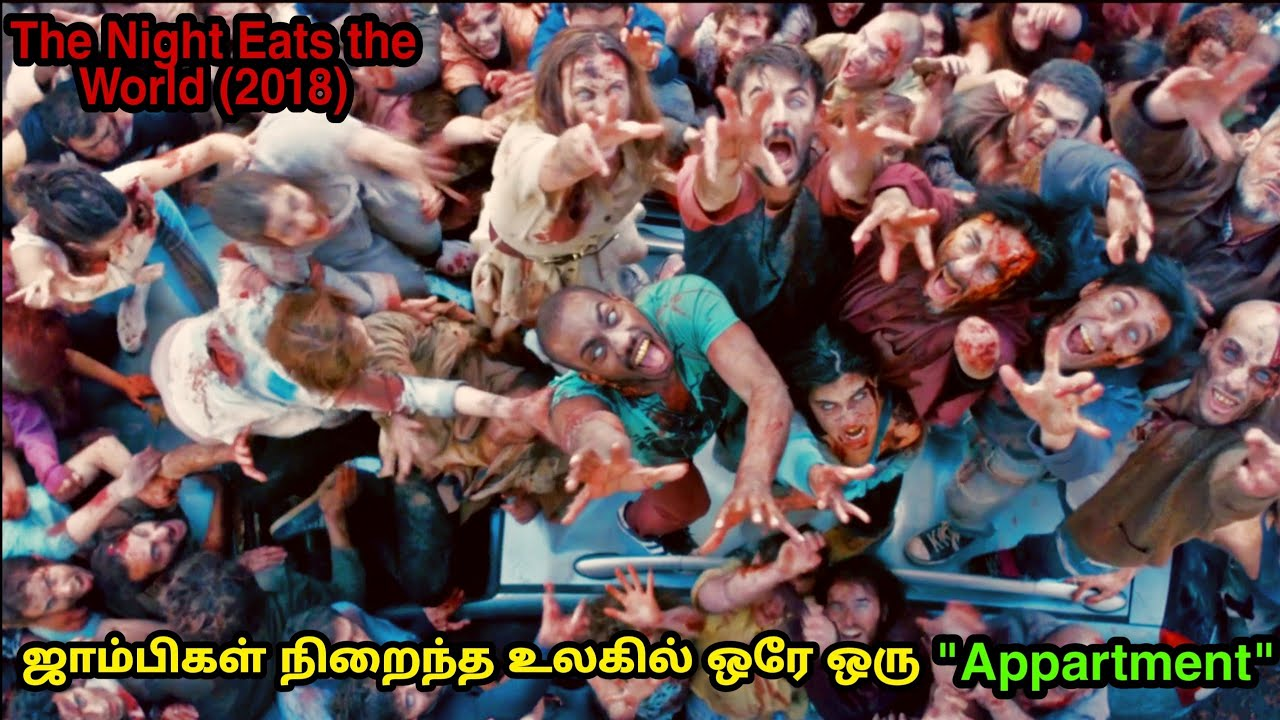 ஜாம்பிகள் நிறைந்த உலகில் ஒரே ஒரு Appartment|The Night Eats The World|Zombie Movie Explained in Tamil