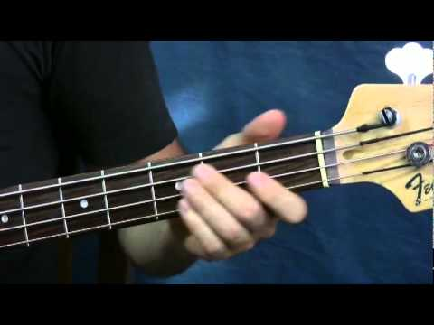 beginner bass guitar lesson come out and play the offspring
