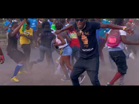 King HardKnaxs - Krazy Music Video (Antigua 2019 Soca)