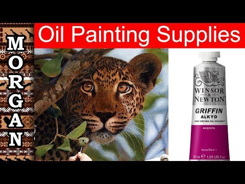 Oil painting for beginners - what oil paints to buy - Jason Morgan