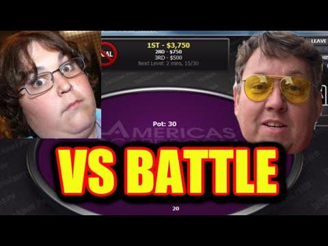 Andy Milonakis VS Rene Nezhoda Online Poker Battle Americas Cardroom