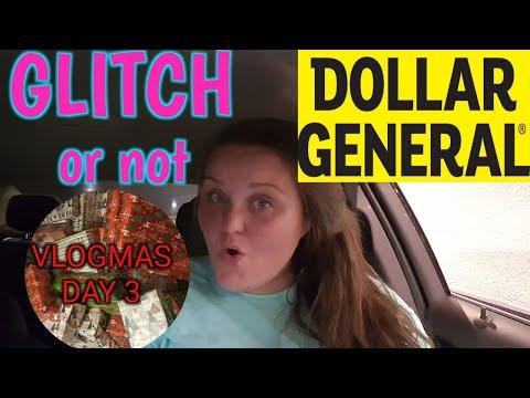 DOLLAR GENERAL GLITCH?? (vlogmas Day 3)