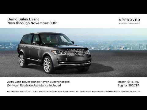 Land Rover Orland Park >> Land Rover Orland Park Demo Sales Event
