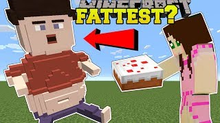 THE FATTEST MAN IN MINECRAFT....