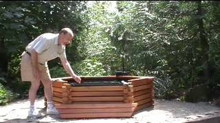 Pond Kits Easy Set-up Part 4 - The Benches