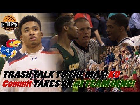 TRASH TALK TO THE MAX! Devon Dotson, Providence Day TAKE ON #1 NC Greensboro Day
