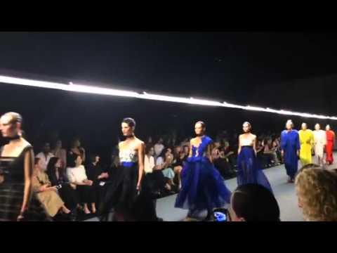 Carla Zampatti collection at Australian Fashion Week