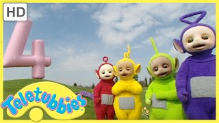 Teletubbies - Numbers | Four (Series 3, Episode 65 Full HD Episode)