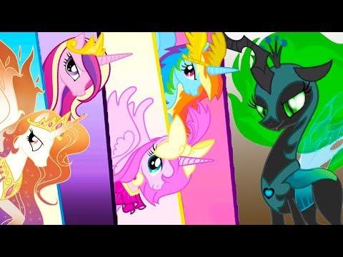 РАРИТИ и ФЛАТТЕРШАЙ в Май литл пони #8 Дружба это чудо с Кидом в My Little Pony на пурумчата