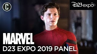 Tom Holland Breaks Silence on MCU + Updates on Eternals, Black Panther & More (D23 Expo 2019)