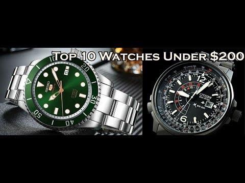 Top 10 Watches Under $200