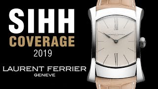 SIHH 2019: Laurent Ferrier Montre Ecole, Galet Micro-Rotor, and the Bridge One!
