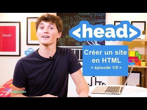 """Créer un site en HTML (1/5) - """"3 minutes pour coder"""""""