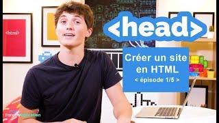 """Créer un site en HTML (1/5) - """"3 minutes pour coder"""" thumbnail"""