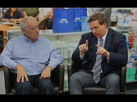 Florida governor-elect Ron DeSantis visits medical supply store in Hialeah Gardens