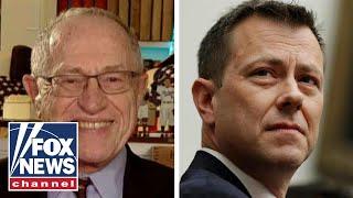 Dershowitz: Strzok's mistake was not recusing himself