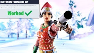 NAE Duo Custom Matchmaking Scrims | Fortnite Live cross platform | USE CODE: YT_iDroppedd