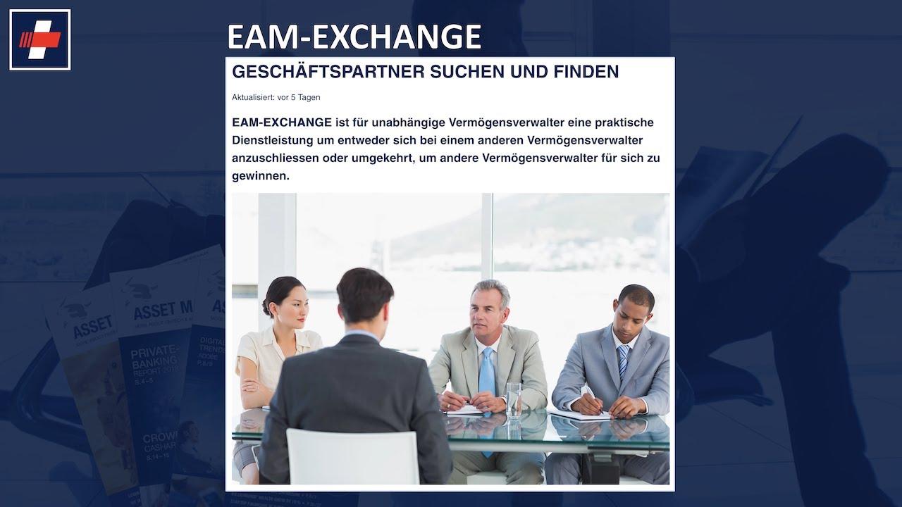 WEBINAR EAM Exchange