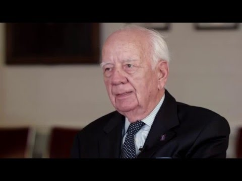 John Georges (BS Chemical Engineering '51) on his time at Illinois