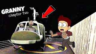 Helicopter Escape - Granny Chapter Two | New Escape | DK Dost