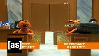 Cat Court | Robot Chicken | Adult Swim