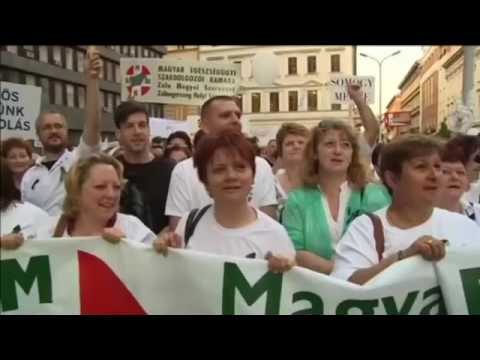 Hungary Nurses Protest׃ Healthcare workers rally for better wages