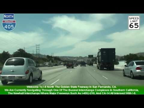 I-5 North Los Angeles Exits 158-176