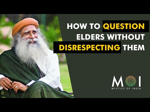 How To Question Elders Without Disrespecting Them ~ MOI