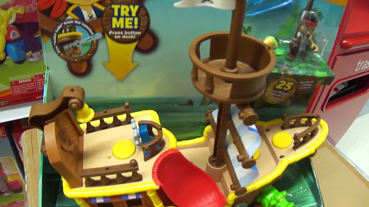 Jake And The Neverland Pirates Toys Musical Pirate Ship