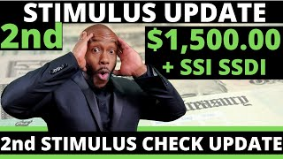 $1,500 Second STIMULUS CHECK UPDATE!! July 4 + SSI SSDI EIDL  Unemployment Insurance Benefits