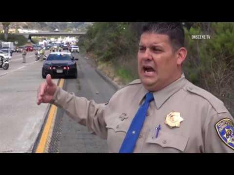 San Diego: I-8 Fatal Hit & Run 05172018 (WARNING GRAPHIC VIDEO)
