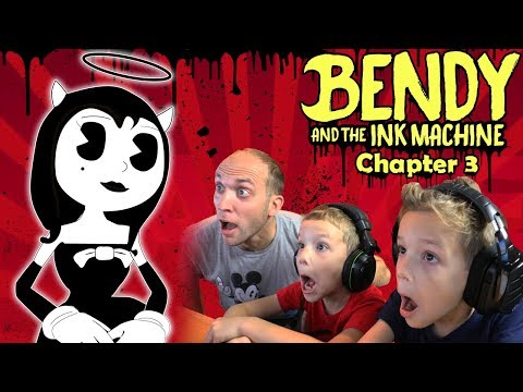 BEWARE Alice Angel! Bendy and the Ink Machine Chapter 3 Twin Toys Kids Jumpscare