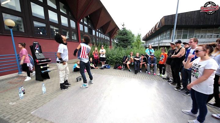 les twins  freestyle jam  fair play dance camp 2012