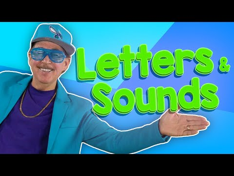 Learn The Letters And Their Sounds | Alphabet Sounds | Jack Hartmann