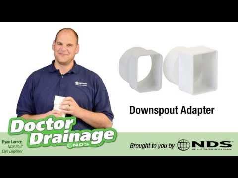 Downspout To Drain Repair Easy Diy Waterproofing Gutte