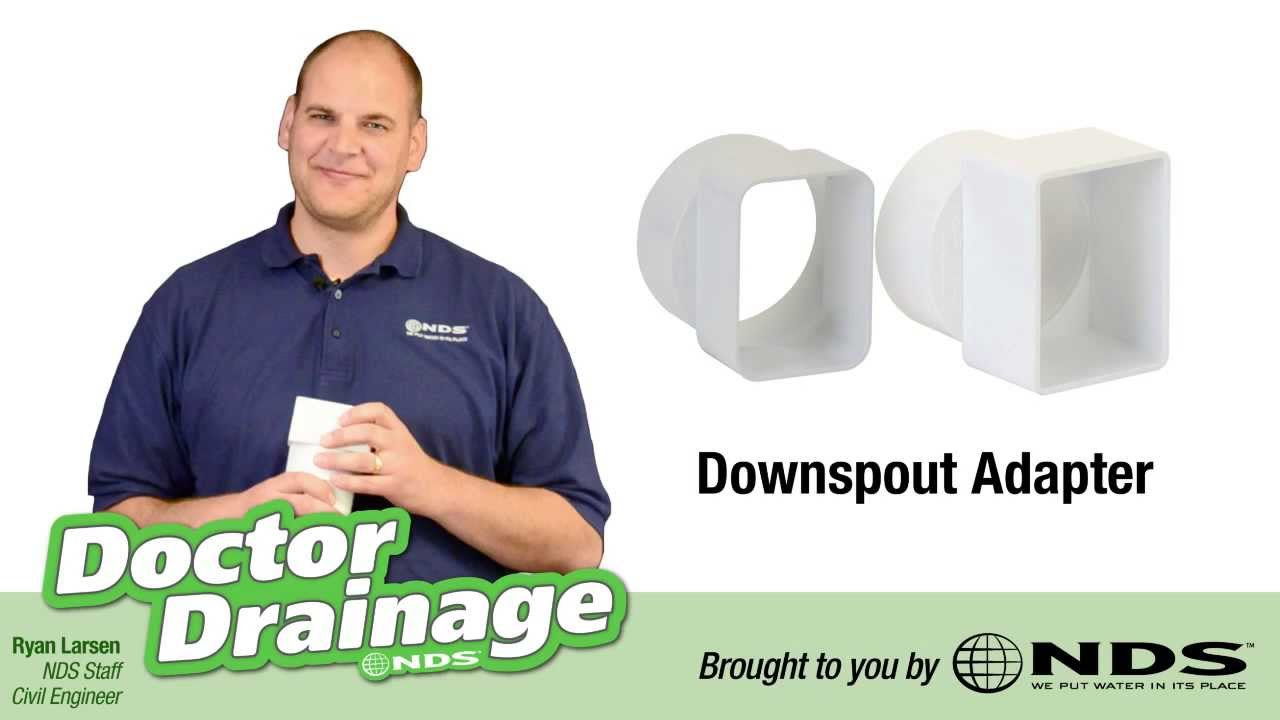 How To Connect Your Downspout To Your Drain Pipe Nds