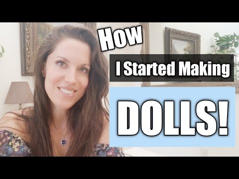How I Started Making And Designing Doll Patterns