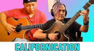 Alip Ba Ta Reaction - RHCP - Californication  (fingerstyle guitar cover) // Guitarist Reacts видео