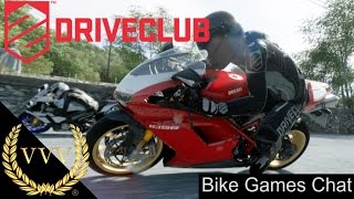 Driveclub Bikes Gameplay With Bike Games Chat