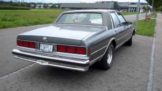1988 Chevy Caprice Classic custom exhaust engine sound