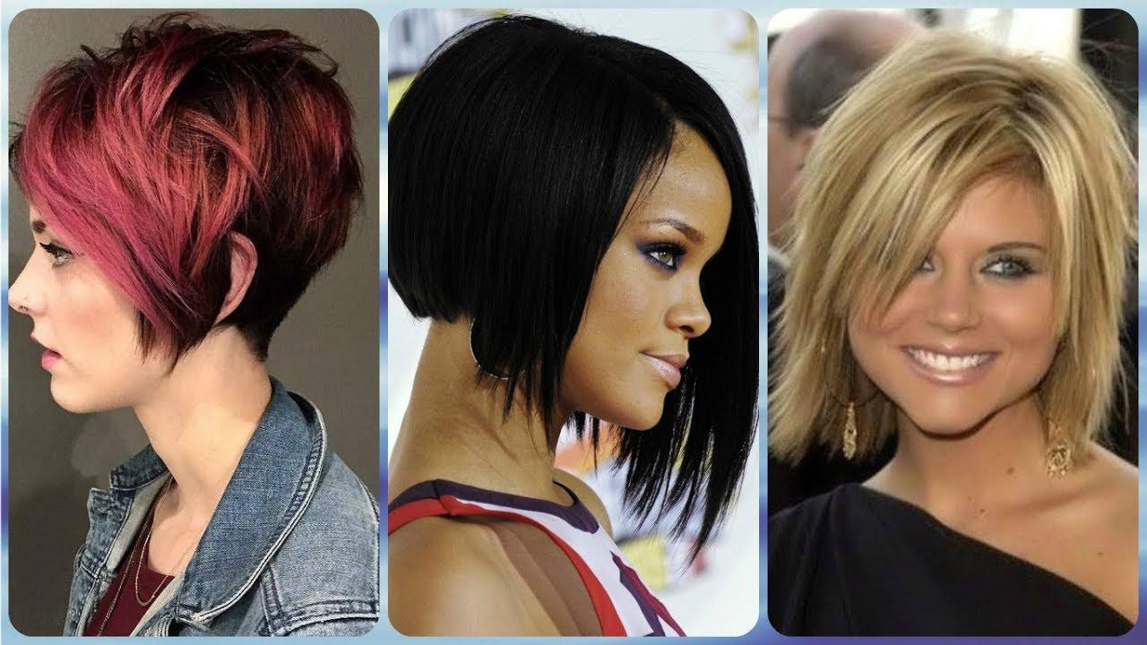 Die Modische 20 Ideen Zu Frisuren Asymmetrischer Bob Frauen