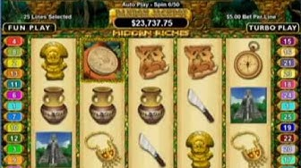 Play Hidden Riches Free Online Casino Slot Games with