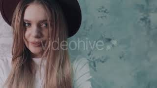 Beautiful Blonde in a Dressing - (lifestyle) Stock Footage | Mega Pack +40 items