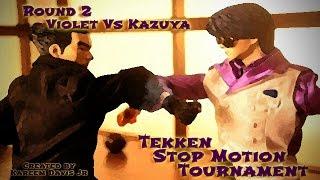Tekken Stop Motion Web Series EP 2: Kazuya Vs Violet