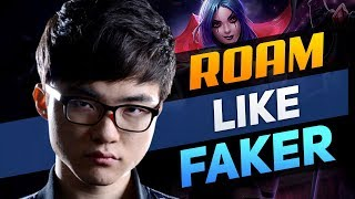 Faker Only Roams to Get Himself Ahead and You Should Too!