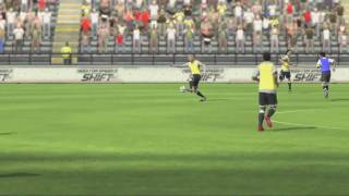 FIFA 10 - Обучение #1, базовые приемы