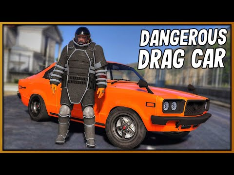 GTA 5 Roleplay - THE MOST DANGEROUS DRAG CAR | RedlineRP #932