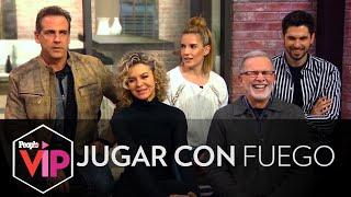 """Hicimos el 10 Year Challenge con el elenco de """"Jugar con Fuego"""""""